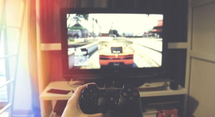 gra wyścigowa na konsolę